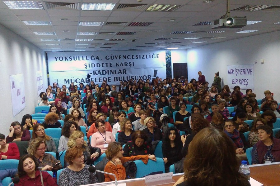 'Kadın emekçilerin en temel sorunu güvencesizlik'
