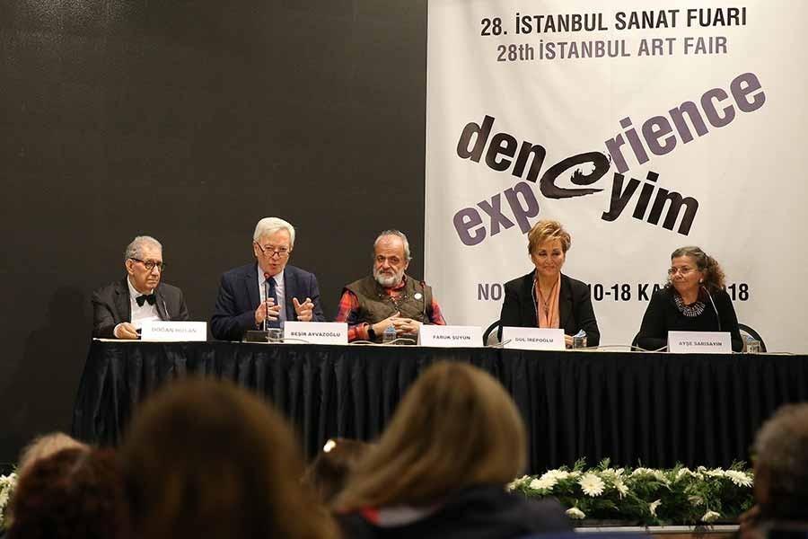 Kitap fuarında 'Selim İleri Edebiyatı' konuşuldu