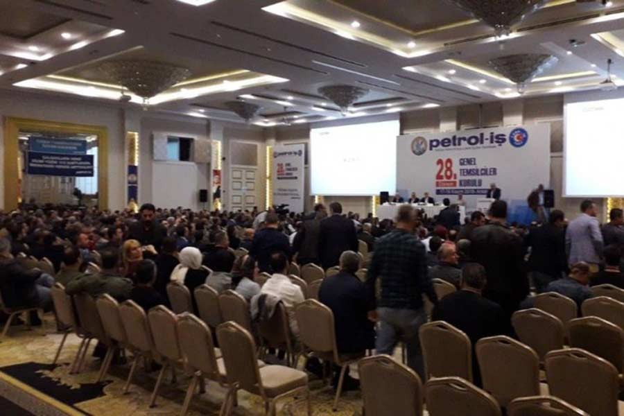 PETROL-İŞ 'GREV'İ HATIRLATTI