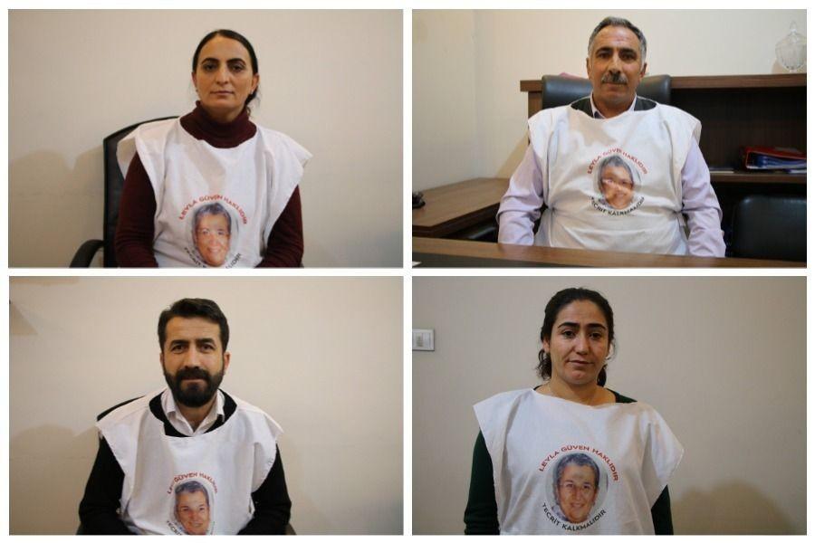 Leyla Güven'e destek için açlık grevi yapan siyasetçiler anlattı
