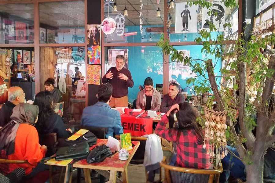 Antep Emek Gençliği düzenlediği söyleşiyle krizi tartıştı