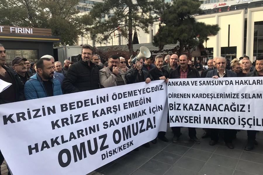 Kayseri'den çağrı: Krizin yükünü çekmeyelim