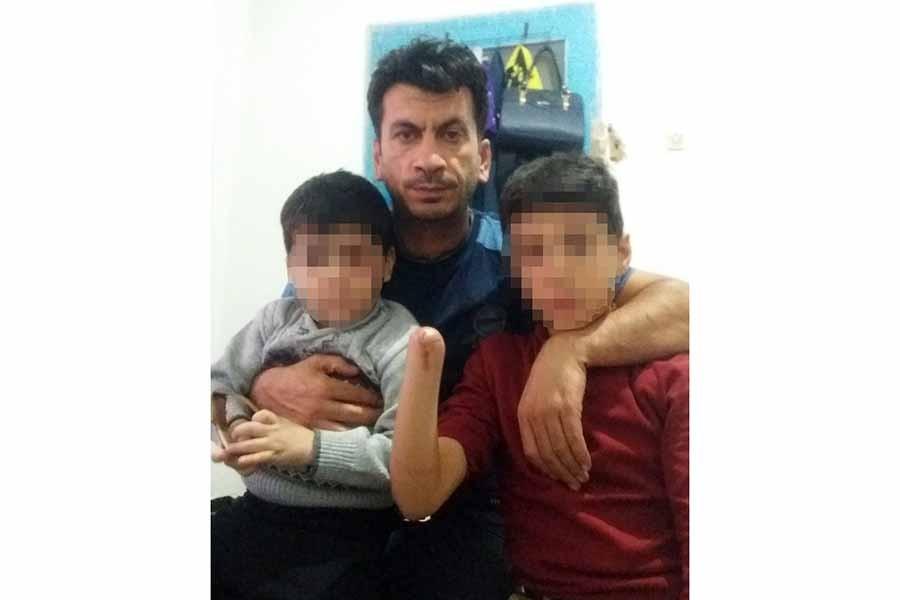 İki çocuğu patlamada yaralandı, 900 lira yardım parası verdiler