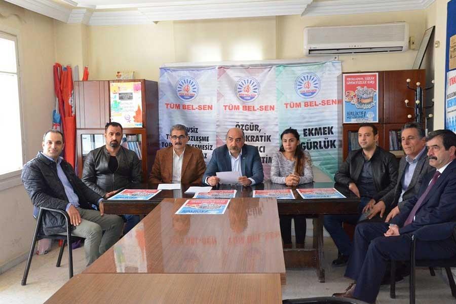 Tüm Bel Sen Adana Şube'den A Haber'e tepki