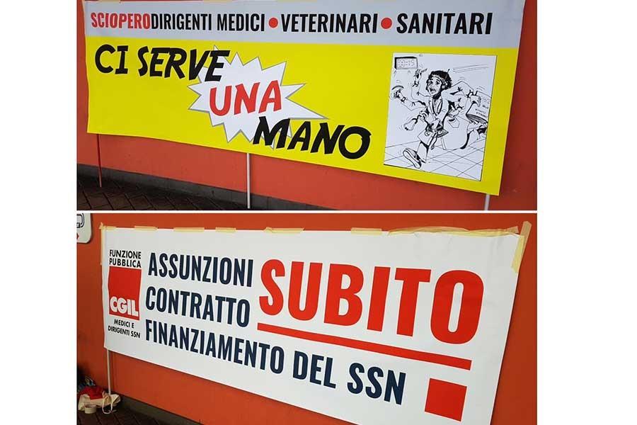 İtalya'da doktorlar greve çıktı