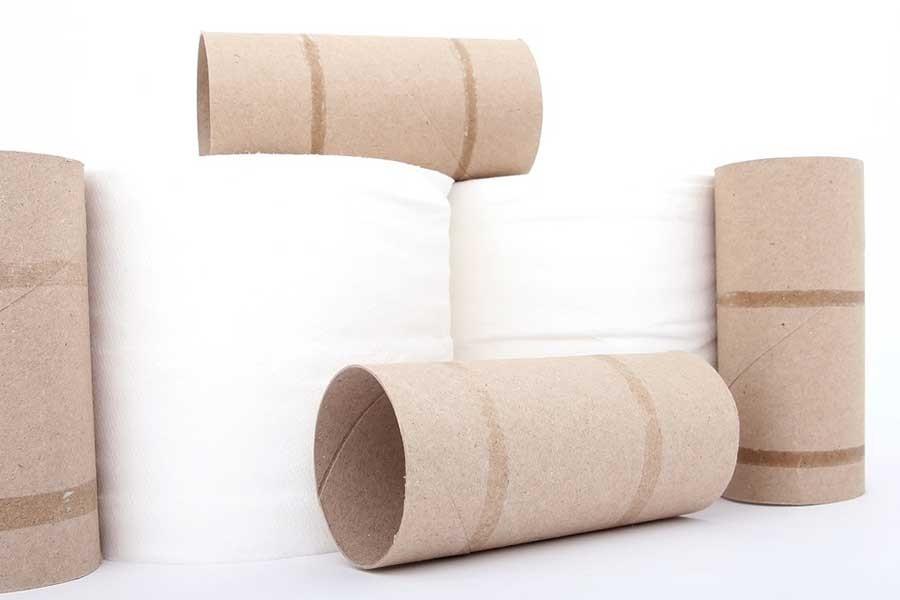 Tuvalet kağıdının rulosu genişledi, kağıdı azaldı