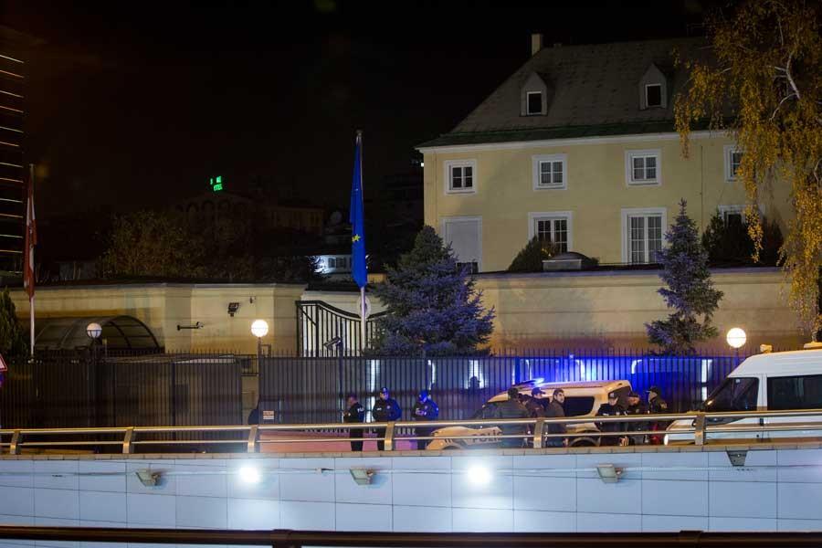 Avusturya Büyükelçiliği yakınlarında ateş açanlar yakalandı