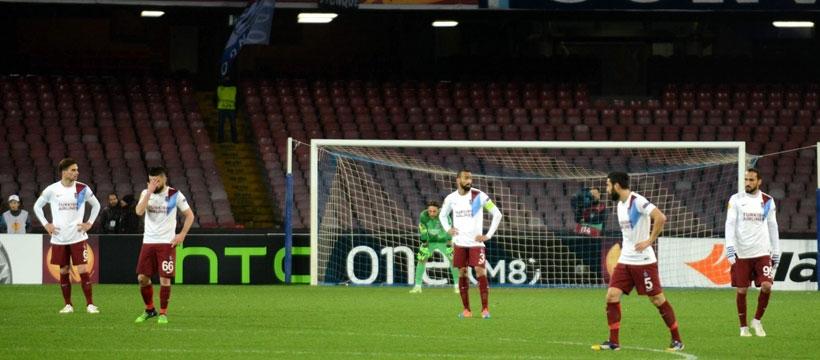 Napoli: 1 - Trabzonspor: 0