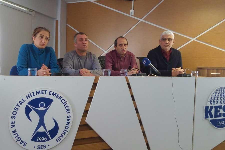 'Beyaz Bayrak' operasyonu: Gözaltındaki sendikacılar ifade veriyor