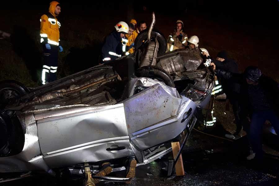 İstanbul'da trafik kazası: 5 yaralı