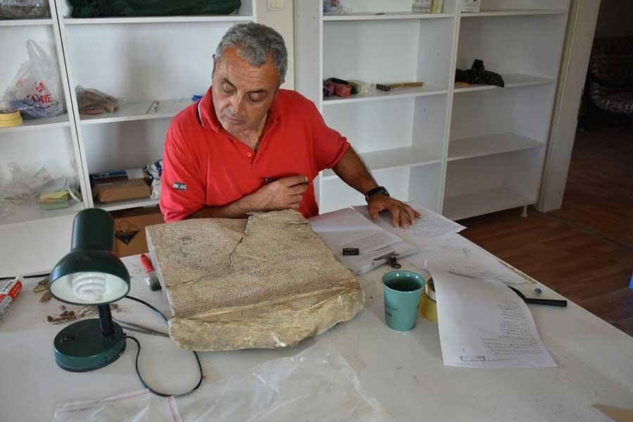 Antandros'ta 2 bin 200 yıllık kararname bulundu