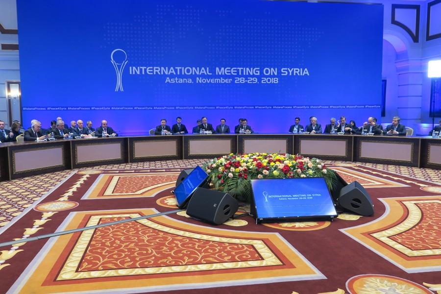 Astana'da Suriye konulu 11. garantörler toplantısı sona erdi