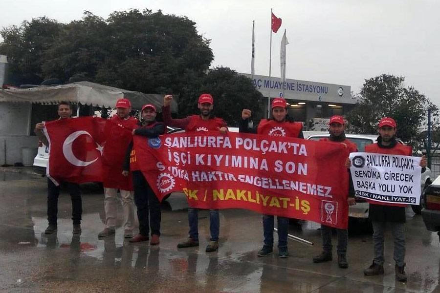 TÜVTÜRK işçilerinin eylemi 12. gününde