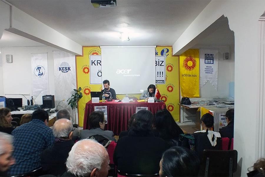 'Krize karşı mücadeleyi antiemperyalist bir noktaya koymalıyız'