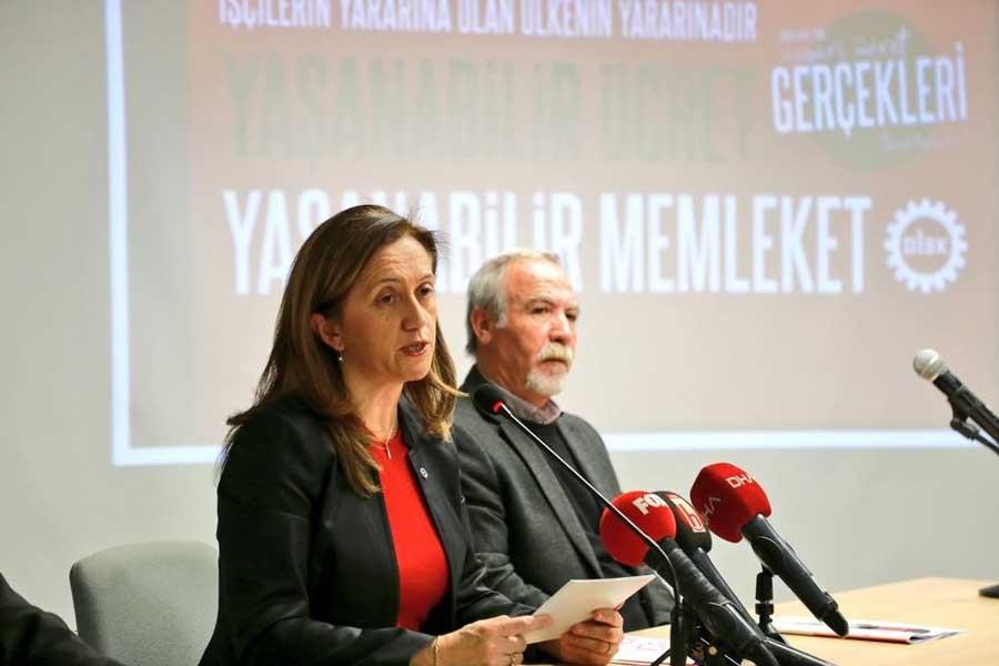 DİSK 2.800 Lira Olmalı ve Vergi Dışı Bırakılmalı Dedi 24