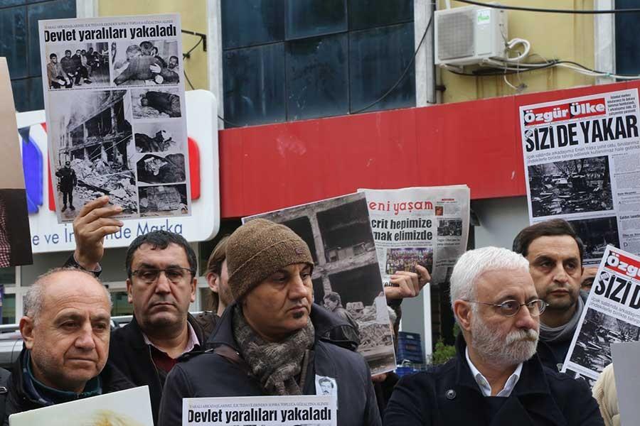 Özgür Ülke gazetesine saldırının 24. yılı:  Bu gelenek devam edecek