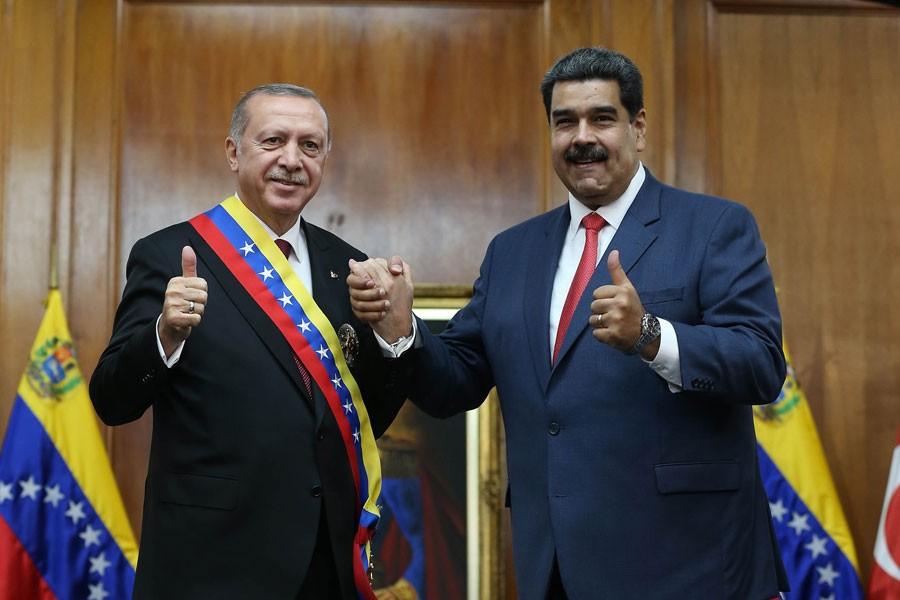 Maduro: Türkiye bizim yol arkadaşımız oldu