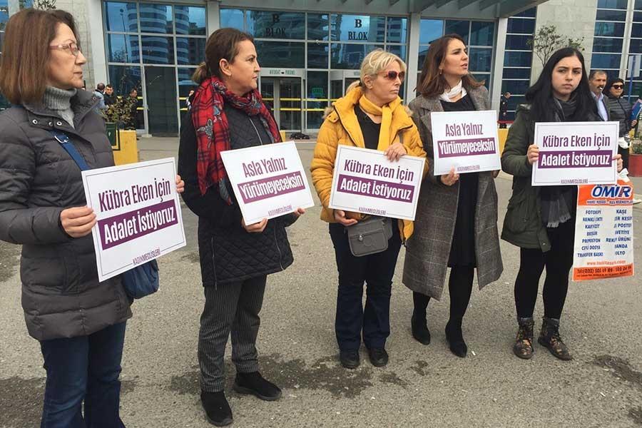 Kübra Eken'i felç bırakan eşe 12 ay 15 gün hapis cezası