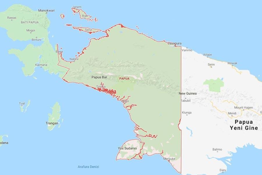 Endonezya'da silahlı saldırıda 31 işçi yaşamını yitirdi