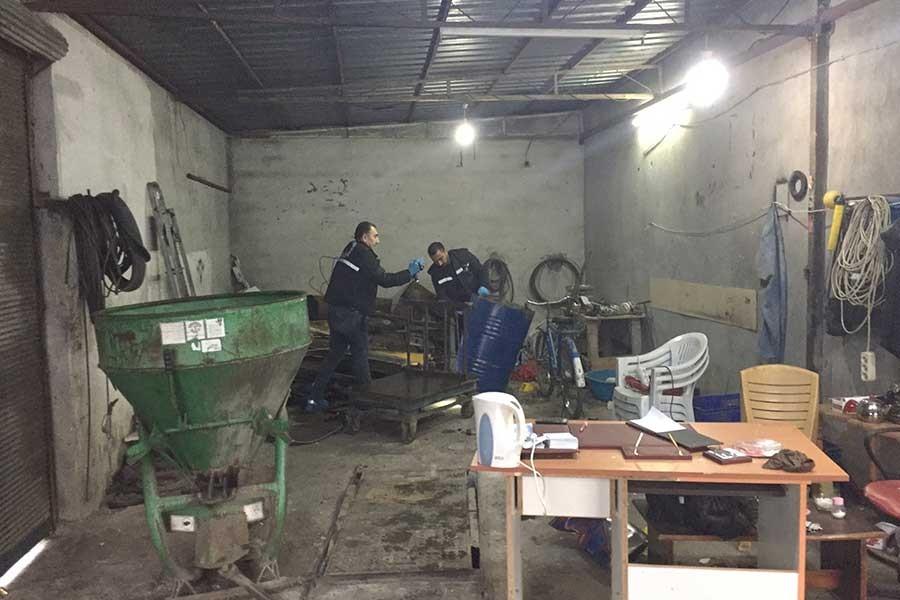 Ceyhan'da tamirhanede patlama: 3 yaralı