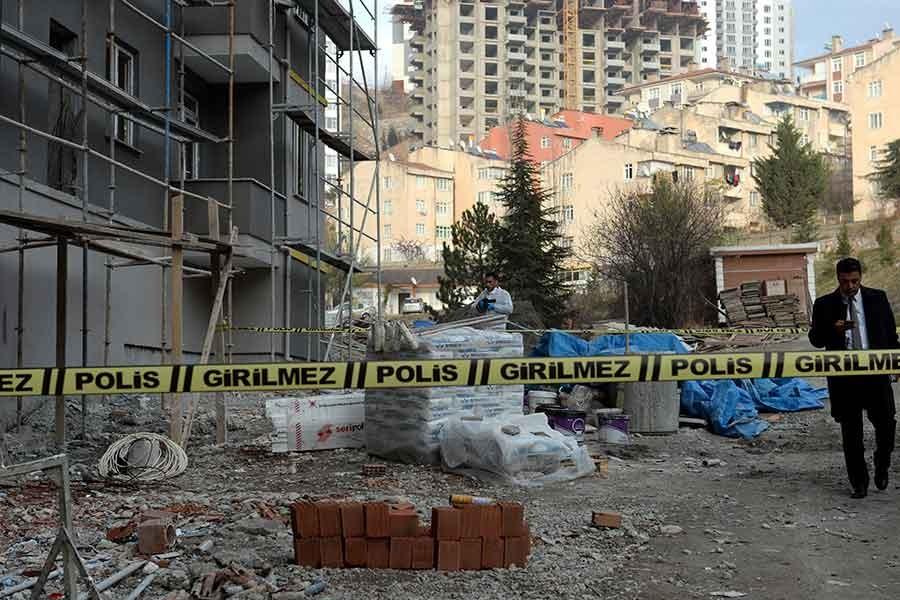 Tokat'ta inşaattan düşen işçi yaşamını yitirdi