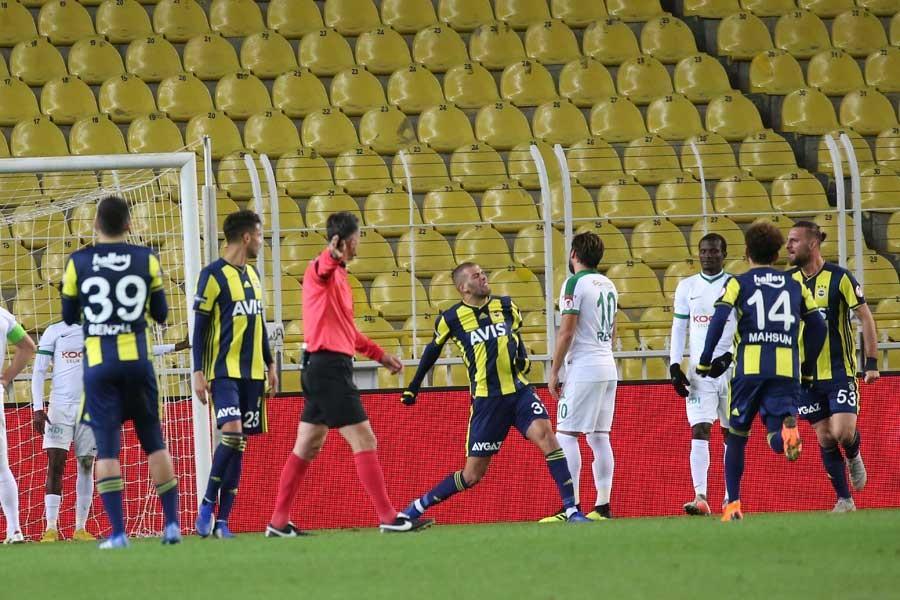 Fenerbahçe Giresunspor'u 1-0 yendi