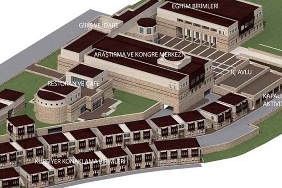 Tasarruf tedbiri rafta: Harput'a 80 milyon TL'ye Diyanet Külliyesi