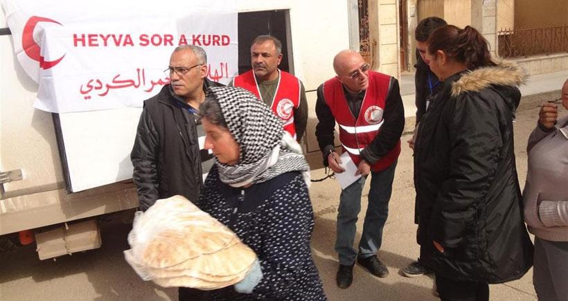700 Süryani aileye yardım ulaştırıldı