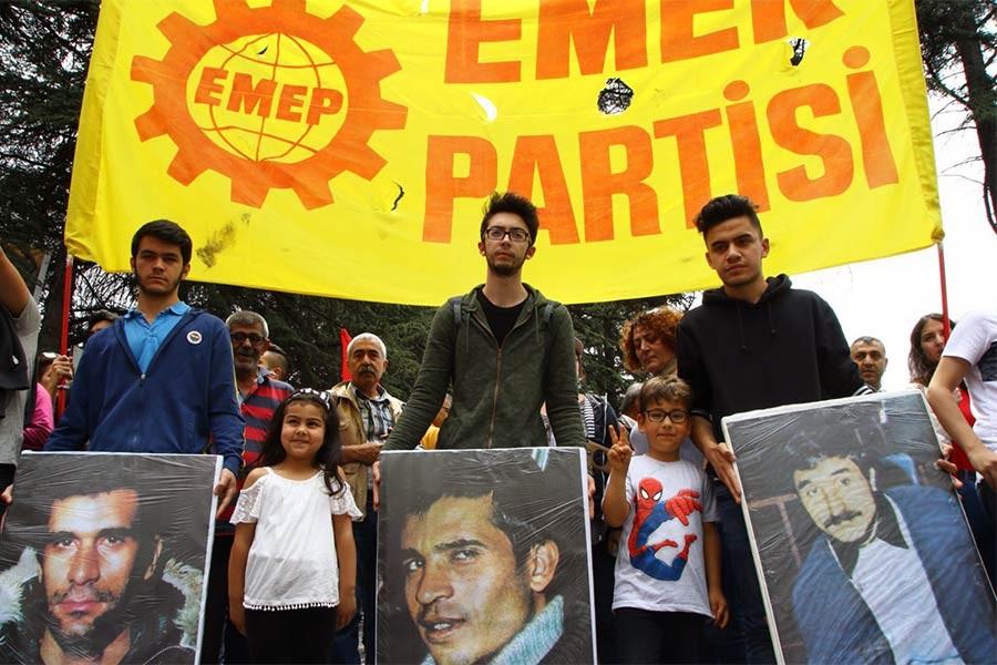 EMEP'in seçimle alakası olmayan 6 Mayıs afişine seçim kanunundan ceza
