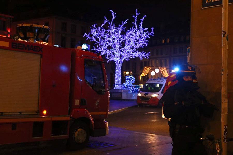 Strazburg kent merkezinde silahlı saldırı: 5 ölü 11 yaralı