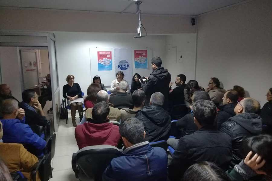 KESK heyetiDersim ve Elazığ'da miting çağrısı yaptı