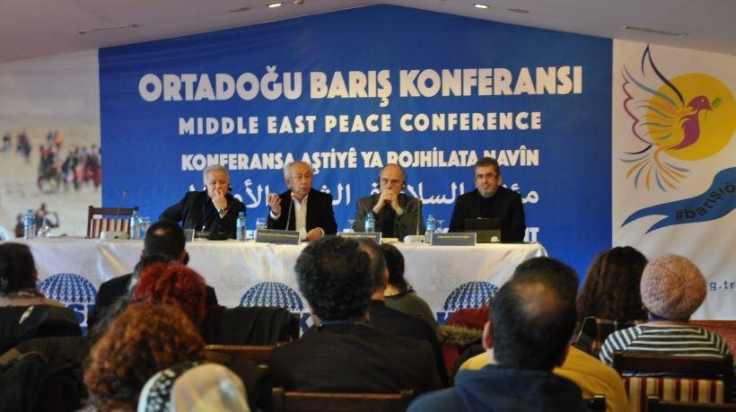 KESK'in 'Ortadoğu Barış Konferansı' başladı