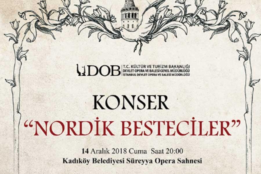 Nordik besteciler Süreyya Opera Sahnesinde