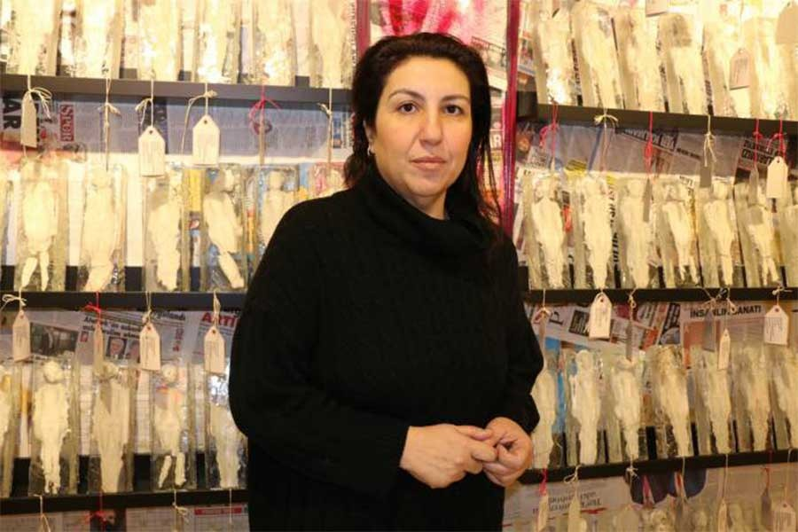 'Kadınların mücadelesini en iyi tanımlayan malzeme porselen'