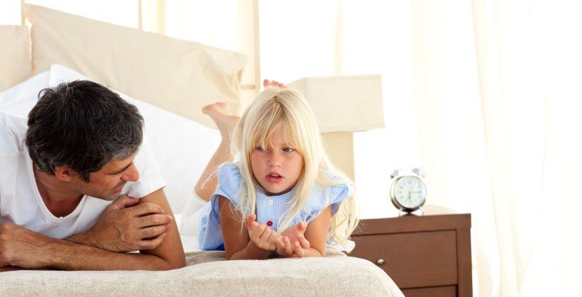 Çocuğunuzun konuşması için onunla konuşun