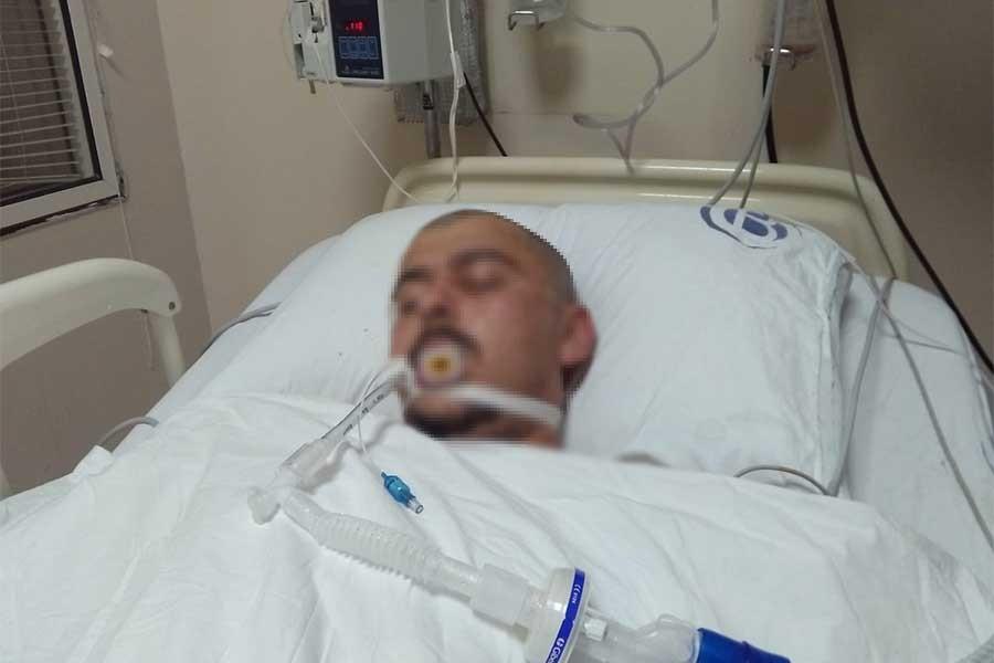 Adana'da sarhoş sanılan kişinin kafasından mermi çıktı