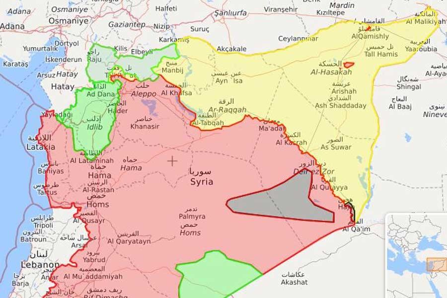 Suriye haritası