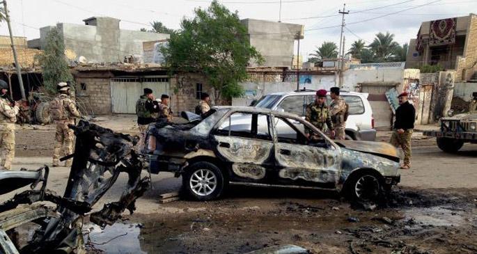 Irak'ta bombalı saldırılarda 102 kişi öldü