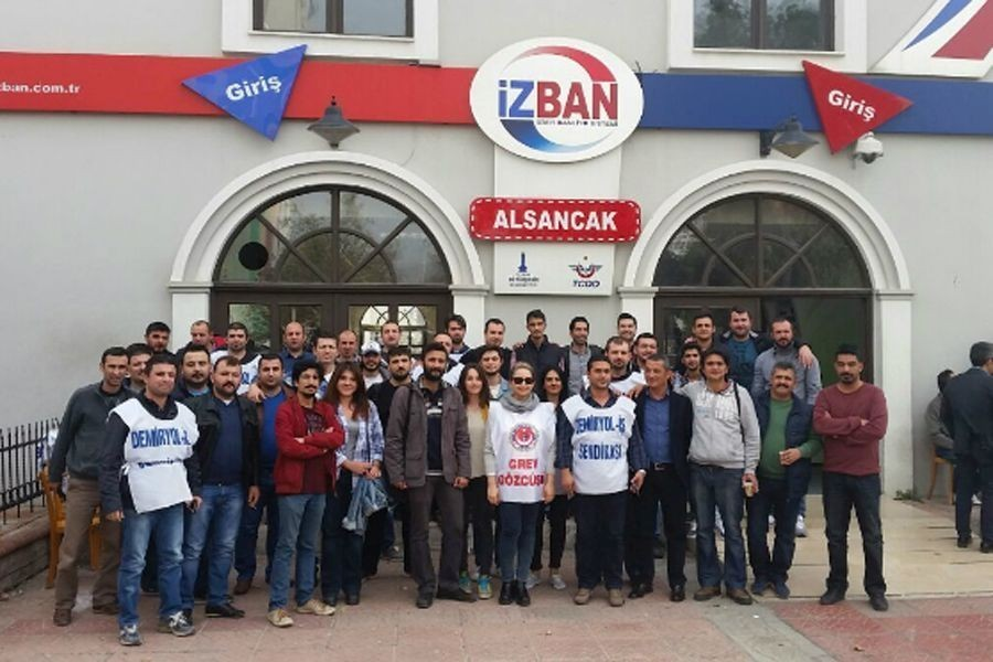 Agreement signed at İZBAN under Supreme Arbitration Board threat