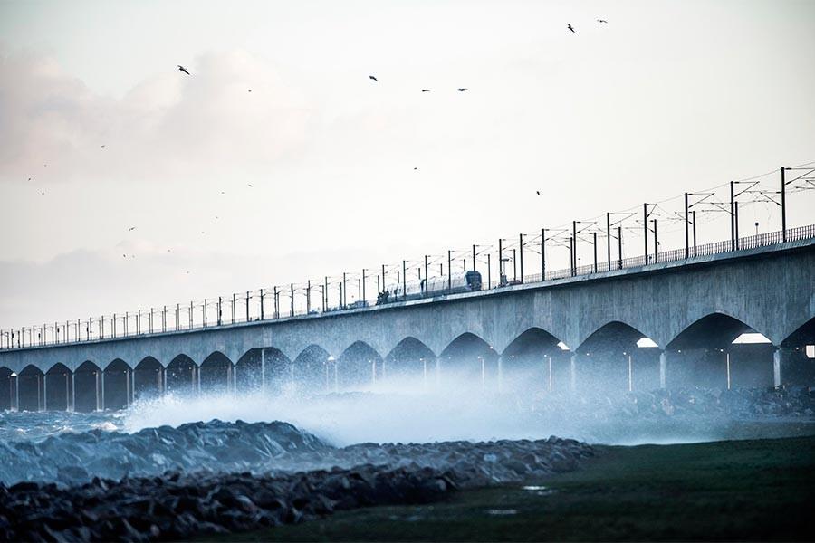 Danimarka'da tren kazası: 8 kişi yaşamını yitirdi