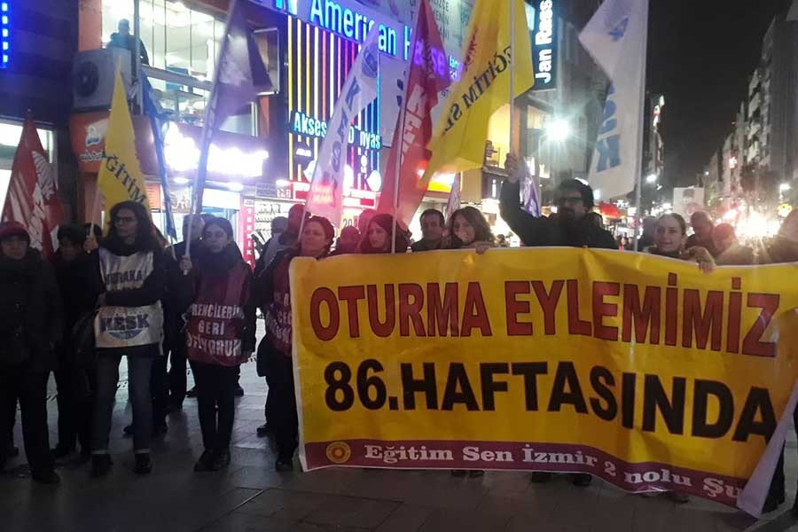 KESK İzmir Şubeler Platformu: OHAL komisyonu lağvedilsin
