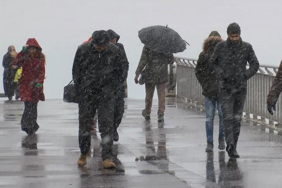 İstanbul'da kar yağışı 6 gün sürecek