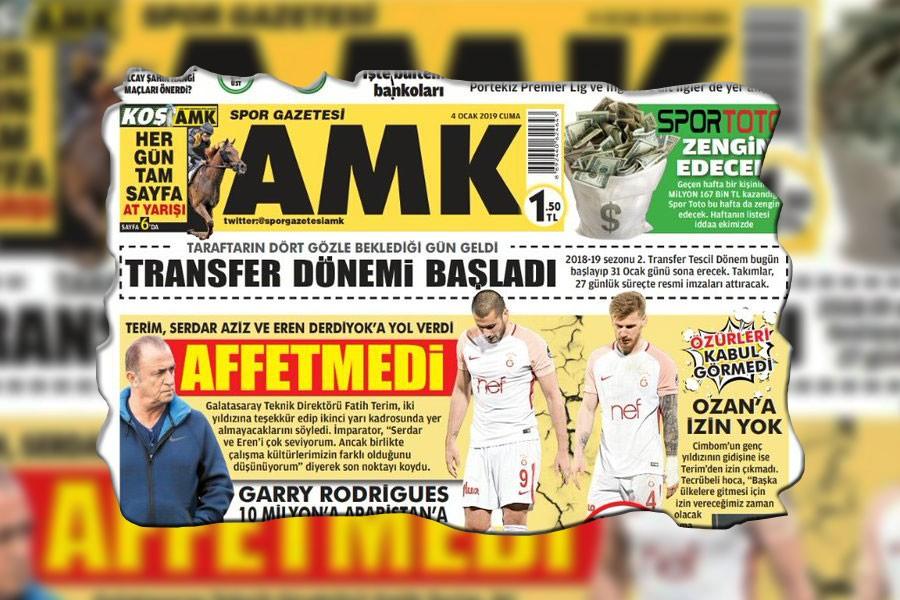 AMK Spor gazetesi son kez okurlarıyla buluştu