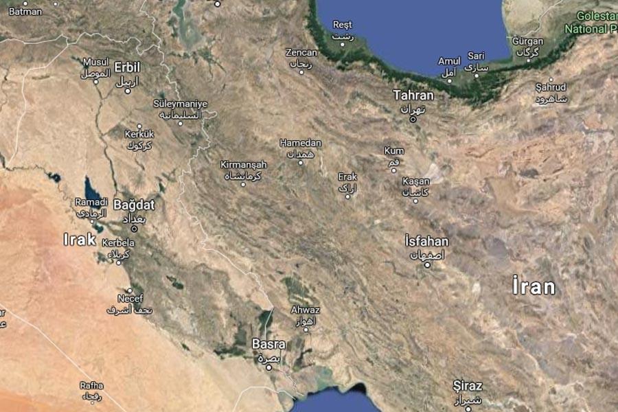 İran-Irak sınırında 5,9 büyüklüğünde deprem