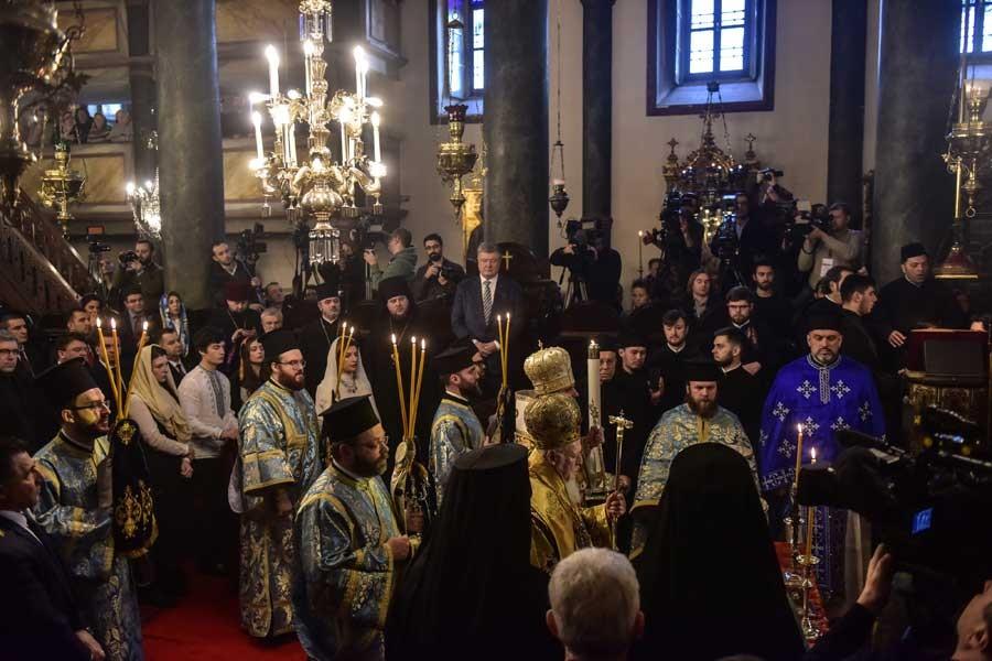 Ortodoksların Noel'inde Ukrayna-Rusya ayrışması öne çıktı