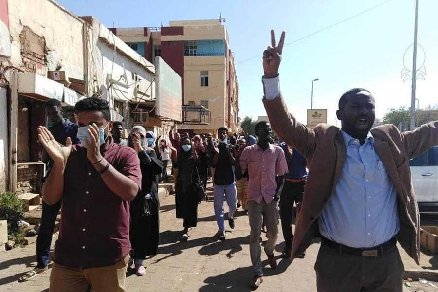 Sudan'da protestolar 19. gününde