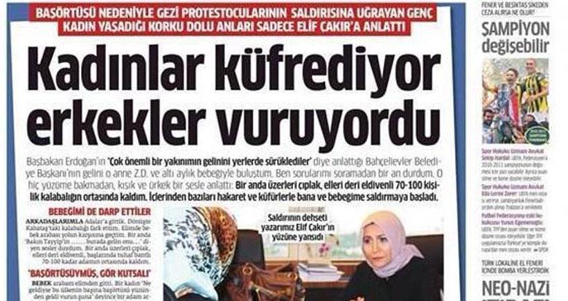 Avukat Okan: Elif Çakır, 'Kabataş yalancısı' olarak anılacak