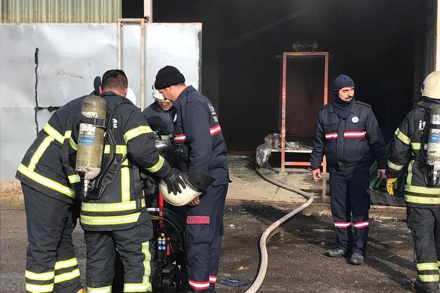 Makine parçası üreten işyerinde patlama: 1 işçi yaralandı