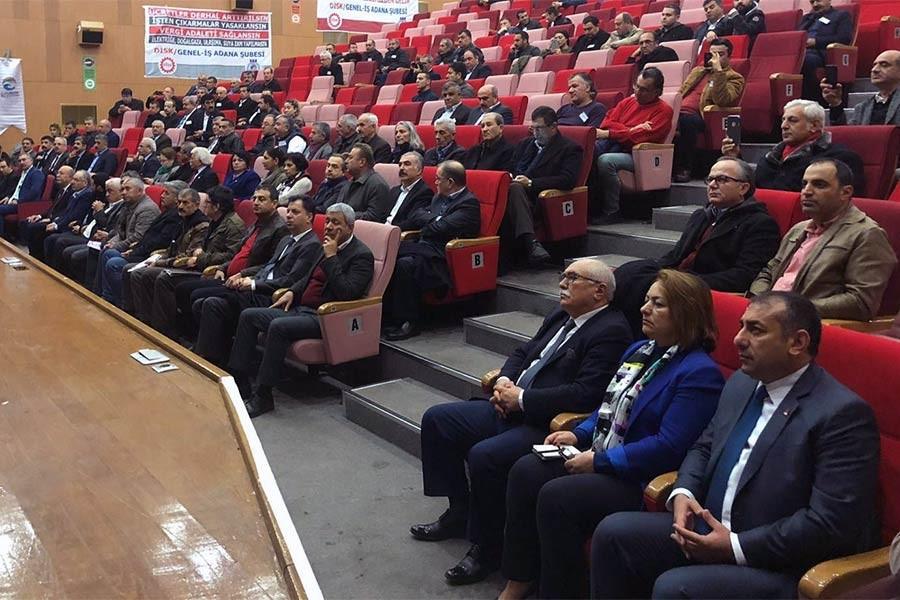 Genel-İş Adana Şubesi Genel Kurulunda tek adam rejimine tepki