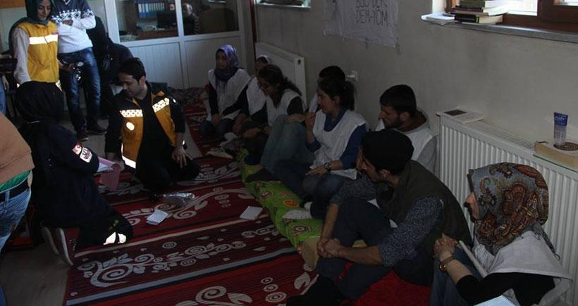 Bingöl Üniversitesi öğrencileri 7 gündür açlık grevinde
